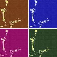 pop art JOHN COLTRANE