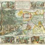 """Antique_Map_Plancius_Paradise"" by imageworks"
