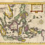 """Antique_Map_Kaerius_East_Indies"" by imageworks"