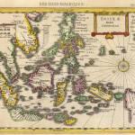 """Antique_Map_Kaerius_East_Indies"" by imageworks"