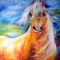 BRIGHT DAY EQUINE by MARCIA BALDWIN