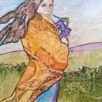 """Spring Iris"" by lynnefrenchdesigns"