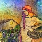 """Vineyard Harvest"" by lynnefrenchdesigns"