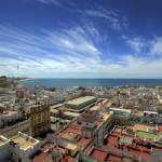 """Across The Rooftops Of Cadiz"" by manateevoyager"