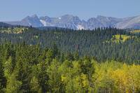 Colorado Rocky Mountain Continental Divide Autumn
