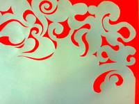 Red and Blue Swirls