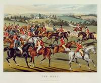 'The Meet', plate I from 'Fox Hunting', 1838 (hand