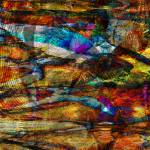 """Abstract Fish Pond"" by Dullinger"