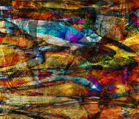 Abstract Fish Pond