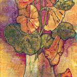"""""""Nasturtiums"""" by lynnefrenchdesigns"""