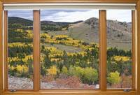 Colorful Colorado Picture Window View