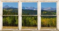 Colorado Indian Peaks Autumn Picture Window View