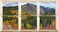 Colorful Colorado Autumn Picture Window View