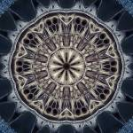 """""""Abstract Cathedral Tile 23 Framed"""" by bloomingvinedesign"""
