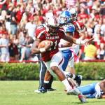 """Marcus Lattimore Heisman Pose"" by TheGarnetLight"