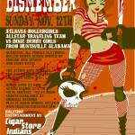 """Rollergirls_NOV_poster"" by superdavedsc"