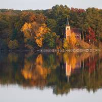 Autumn Reflections by Roger Dullinger