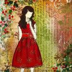 """Christmas Eve Inspirational Art by Janelle Nichol"" by JanelleNichol"