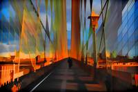 Brooklyn Bridge Abstract