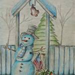 """snowman"" by thuraya"