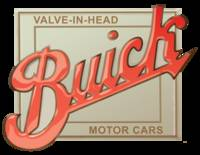 Buick Valve in Head vintage tin sign reproduction