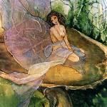 """Fairy Mushroom"" by lynnefrenchdesigns"