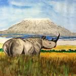 """""""Rhino"""" by AnkurDwivedi"""
