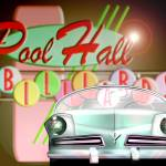 """Billiards And Cars 1035"" by ROUTE329ART"