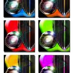 """Color Wheels 1141"" by ROUTE329ART"