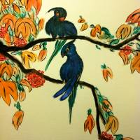 Birds of Paradise Art Prints & Posters by Ankur Dwivedi