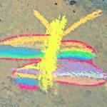 """Autism Creates:  Chalk Butterfly"" by SVPhotoArt"