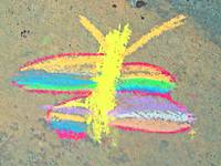 Autism Creates:  Chalk Butterfly
