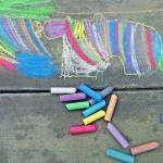 """Autism Creates:  Chalk Art"" by SVPhotoArt"