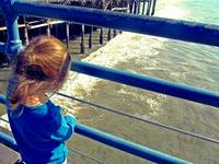 Autism Creates:  Girl on a Pier