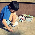 """Autism Creates: Chalk Creations"" by SVPhotoArt"