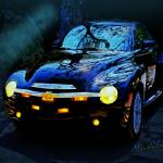 """Hallow Weenie Chevy SSR Decked Out for Halloween"" by chassinklier"