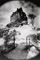 Duntroon Castle, Argyllshire (b/w photo)