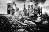 Castle Lyons, Castlelyons, County Cork (b/w photo)