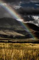 Rainbow Across the Mountain