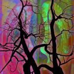 """tree_art_humanbeinginescrutability_print"" by milatovar"