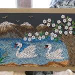 """""""Swan in lake"""" by marianguyen"""