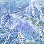 """Bogus Basin"" by jamesniehuesmaps"