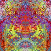 Mandala_2307 Art Prints & Posters by Randy Coffey