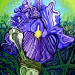 """Metaphysical Iris"" by Genevieva"