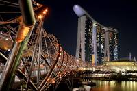 Helix Bridge, Marina Bay Sands, Singapore