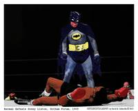 Batman Defeats Liston 1965 (Color)