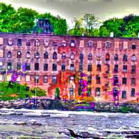 """Fire Power at the Mill"" by Lew Holzman"