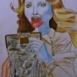"""""""Christy Post Zombie"""" by mrfox"""