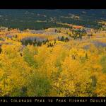 """Colorful Colorado peak to Peak Autumn Scenic Panor"" by lightningman"