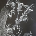 """""""Nathanial Playing Guitar"""" by EmilyAndrews"""